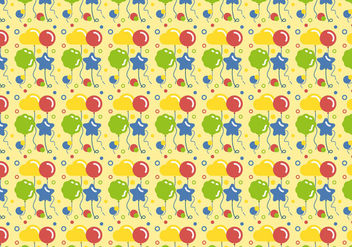 Vector Balloons Pattern - Free vector #346847