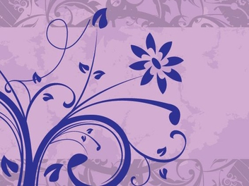 Floral Texture Swirls Banner - Kostenloses vector #346867