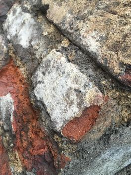 Fragment of old wall closeup - Free image #346917