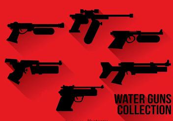 Water Gun Silhouette - Kostenloses vector #347057