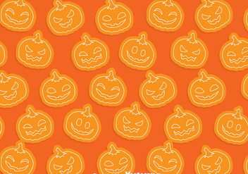 Pumpkin Pattern - vector gratuit #347367