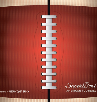 Americal football close up - vector #347677 gratis