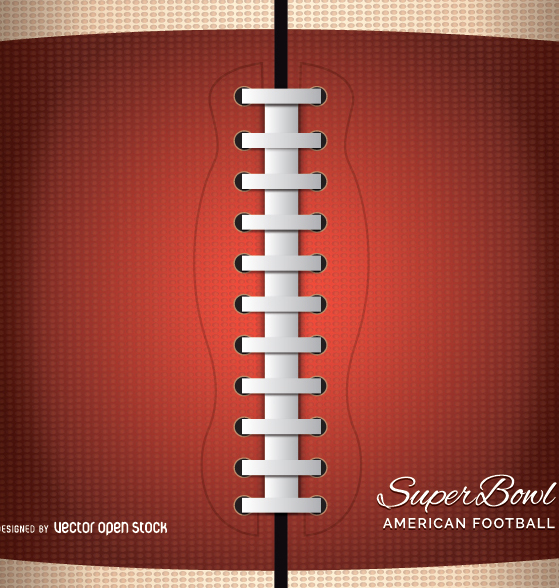 Americal football close up - vector gratuit(e) #347677