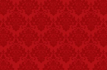 Seamless Red Ornament Pattern - vector gratuit #347877