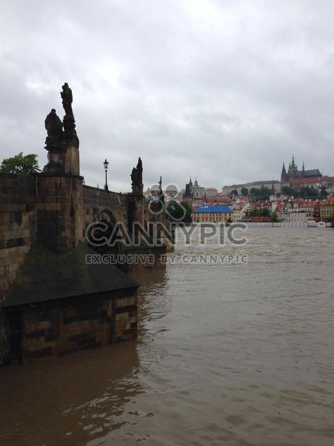 View on river and architecture of Prague, Czech Republic - Free image #348367