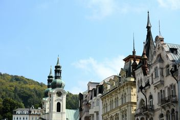 Church of St. Mary Magdalene, Karlovy Vary, Czech Republic - бесплатный image #348407