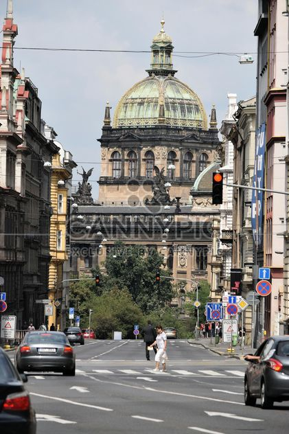 View on architecture on street of Prague - Free image #348607