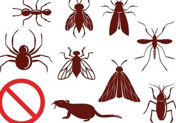 Free Pest Control Vectors - Kostenloses vector #348707