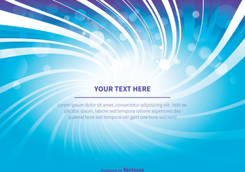 Blue and Purple Abstract Background Illustration - Free vector #349027