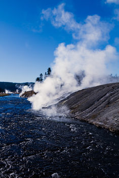 Firehole River - Free image #349257