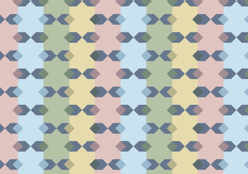 Geometric Pattern Vector - Free vector #350027