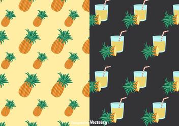 Ananas Patterns Vector - vector #350707 gratis
