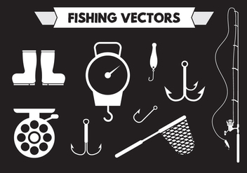 Fishing Vectors - vector gratuit #351747