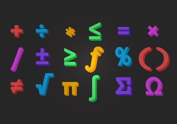 Vector Math Symbol - Kostenloses vector #352207