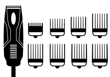 Hair Clippers Vector - Kostenloses vector #352347