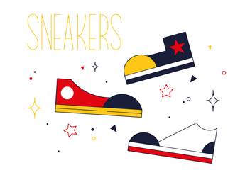 Free Sneakers Vector - Free vector #352507