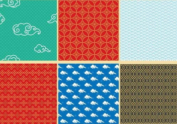 Orient Patterns - Free vector #352527