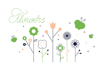 Free Flowers Vector - Free vector #352577