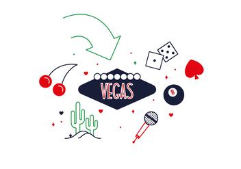Free Las Vegas Vector - Free vector #352627