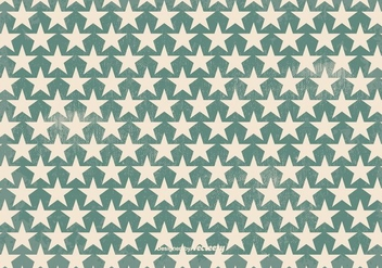 Old Retro Style Vector Star Background - Free vector #352797