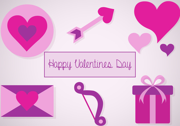Free Valentines Icon Vector - Free vector #352917