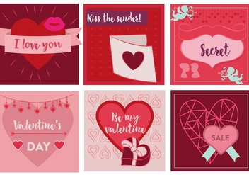 Free Valentine's Day Vector Elements - Free vector #353187