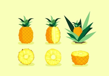 FREE PINEAPPLE VECTOR - бесплатный vector #353467