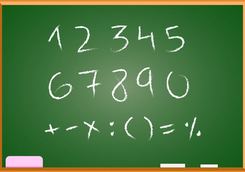 Free Hand Drawn Math Vector - vector gratuit #353817