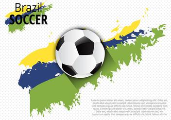 Free Creative Brazil Design Vector - Free vector #355407