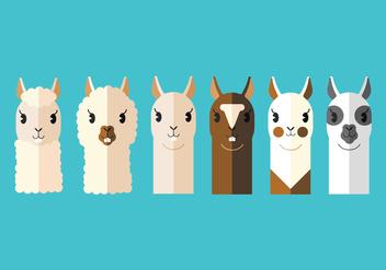 Vector Llama's Head - Kostenloses vector #355627