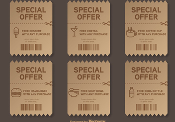 Special Offer Vector Voucher - vector #355707 gratis