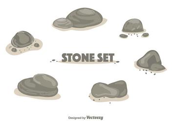 Stone Set Vector - Kostenloses vector #355767