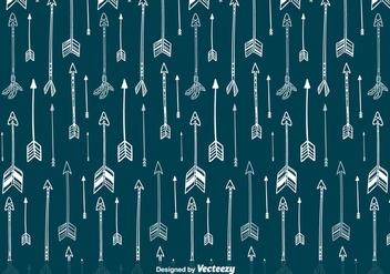 Indian Arrows Vector Pattern - Free vector #356307