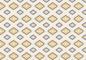Geometric Native Pattern Background - vector gratuit #356697