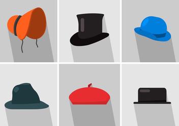 Vector Hats - vector gratuit #356857