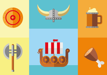 Viking Age Illustration Vector - Free vector #357067