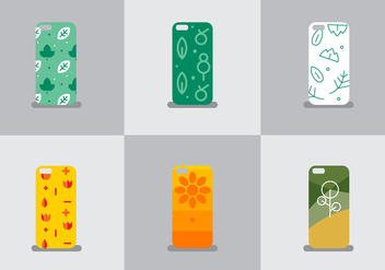 Free Iphone Case Vector #2 - Free vector #357097