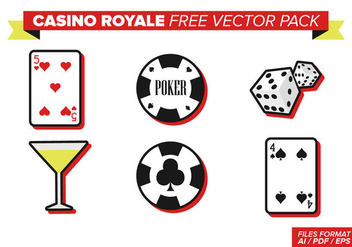 Casino Royale Free Vector Pack - Free vector #357507
