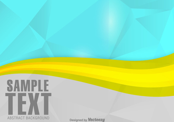 Modern Abstract Vector Background - vector gratuit #358237