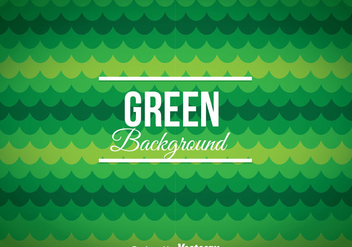 Green Circle Background - vector #358567 gratis