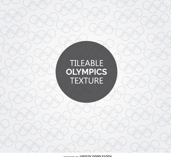 Tileable Olympic symbol texture - бесплатный vector #358727