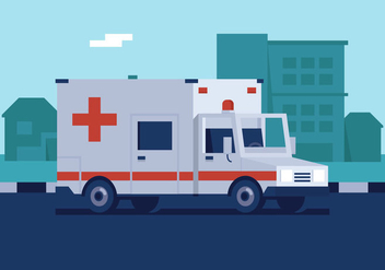 Vector Ambulances - Kostenloses vector #358807