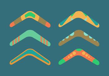 Free Boomerang Vector Pack - бесплатный vector #358847