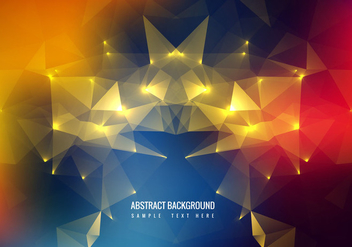 Free Colorful Polygon vector Background - Kostenloses vector #358997