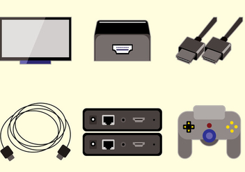 HDMI Vector - Kostenloses vector #359647