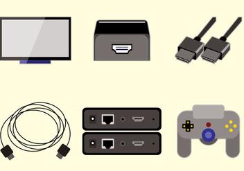 HDMI Vector - vector #359647 gratis