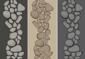 Stone Path Vectors - Kostenloses vector #359937
