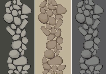 Stone Path Vectors - Free vector #359937