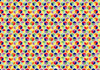 Colorful Geometric Vector Background - Kostenloses vector #360837