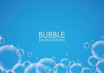 Soap Bubble Background - Free vector #360997